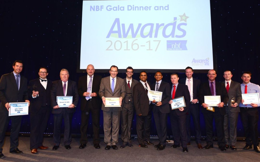 Bed Champions Celebrate Award Wins