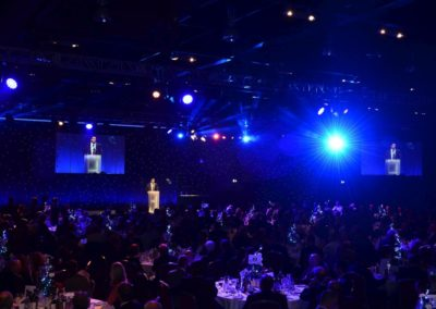 Full house at the NBF Gala Dinner