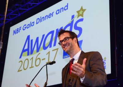 Marcus Brigstocke at the NBF Gala Dinner and Awards